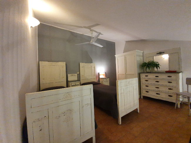 Bio agriturismo olistico valle dei calanchi appartamento 7 Soppalco. 5-elementi